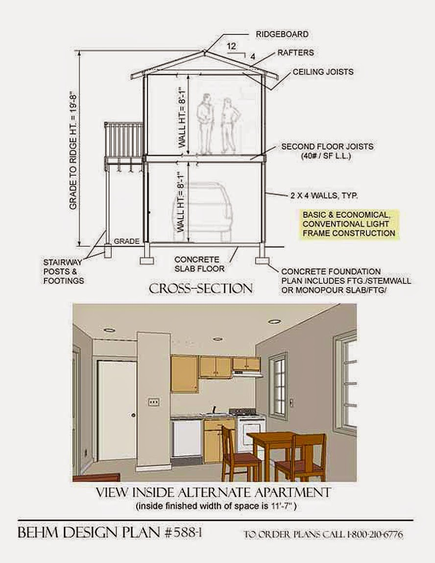 Garage Plans Blog Behm Design Garage Plan Examples
