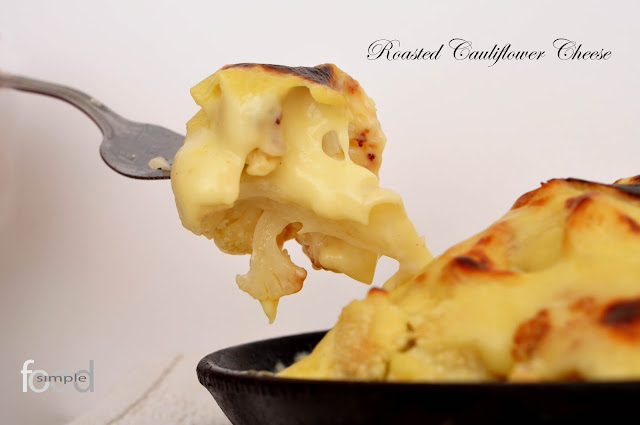 Roasted Cauliflower Cheese ~ Simple Food
