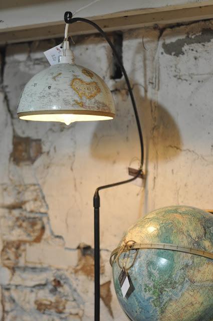 Carver junk company repurposed mini globe pendant light for Repurposed light globes