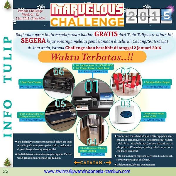 Marvelous Challenge 2015