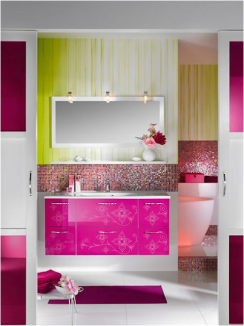 Key interiors by shinay teen girls bathroom ideas Bathroom design ideas colors