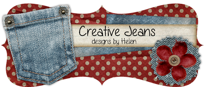Creative Jeans/Stampin' With Helen