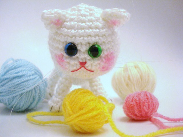 AllSoCute Amigurumis: Crochet Amigurumi Cat, Kitten, Kitty ...