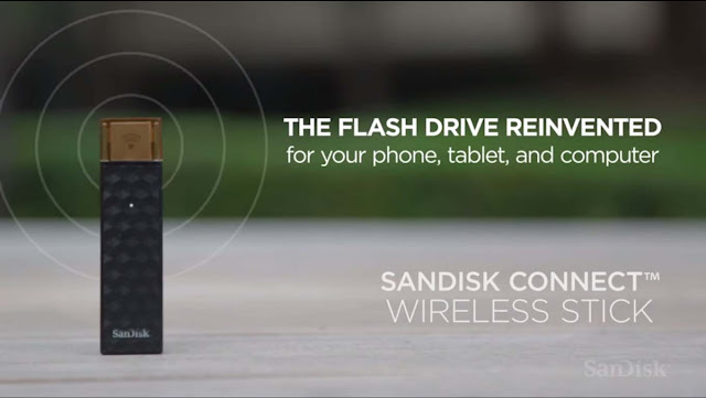 SanDisk Connect Wireless Stick is a File Server in your Pocket