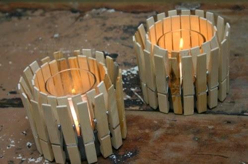 Pinzas de madera diy