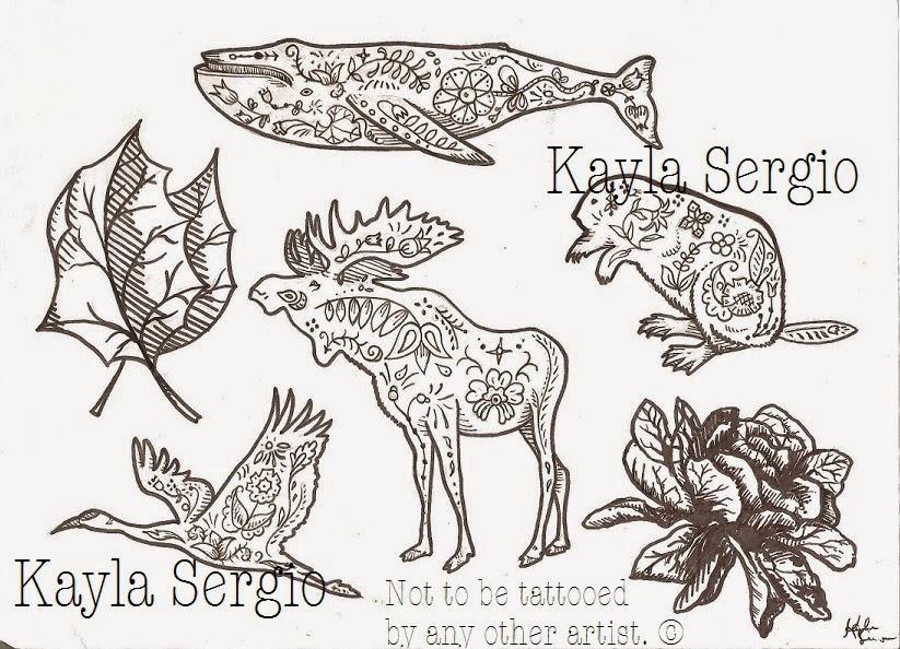 Scandinavian folk designs