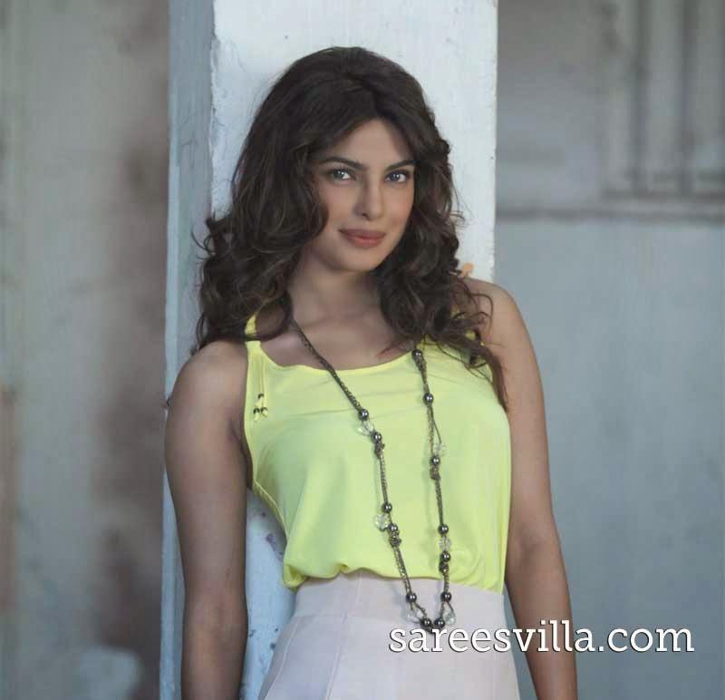 Priyanka Chopra Layered Hairstyle