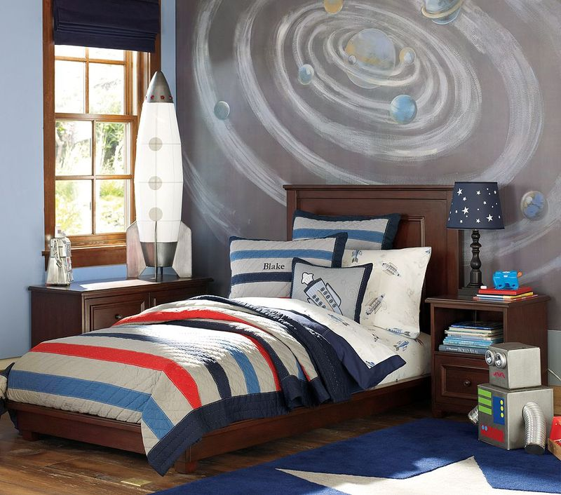 Boy Room Cool Bedrooms For Boys: Dirtbin Designs: Boys Space And Solar System Bedroom Ideas