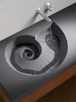 Pias de banheiro muito criativas