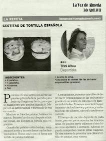 La Voz de Almería 3 de Abril 2012