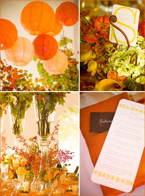 Gaun pengantin new design spot fall themed