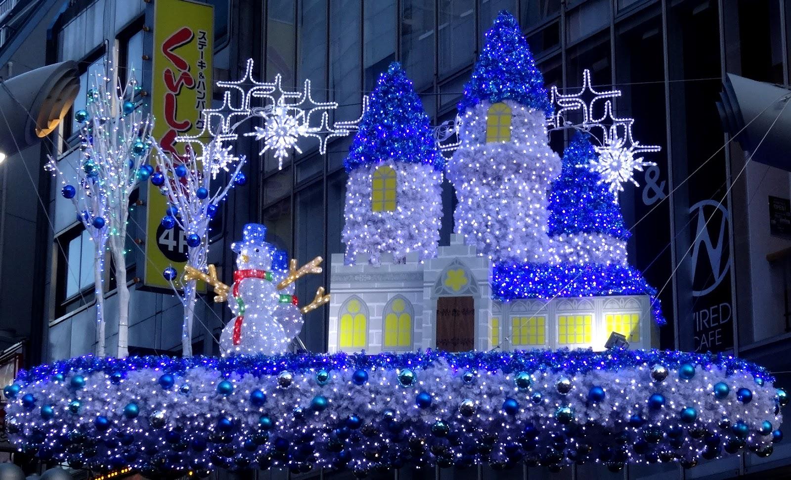 クリスマス装飾,渋谷センター街〈著作権フリー画像〉Free Stock Photos