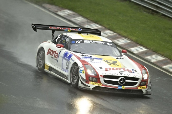 Mercedes SLS AMG GT3 at the 2013 24 Hours of Nürburgring