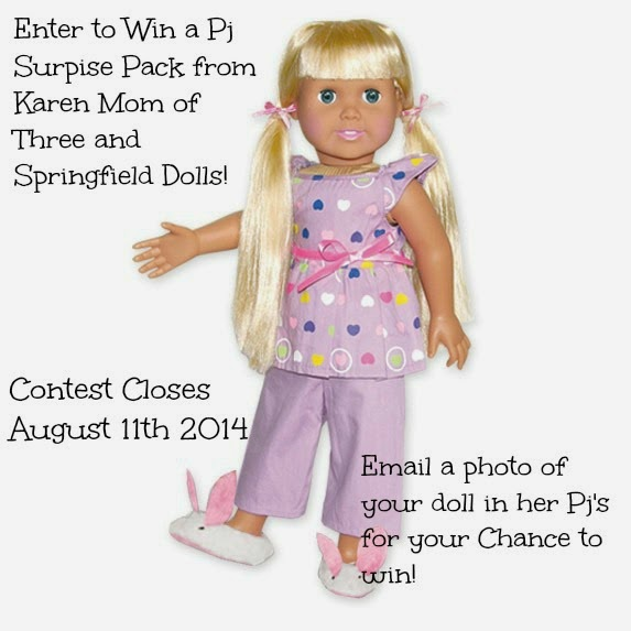 Congrats to Donna Winner of the Pj's Contest!