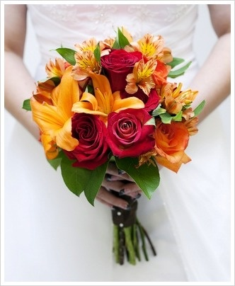 The confetti blog october 2012 - Flowers for wedding in october a colorful autumn ...