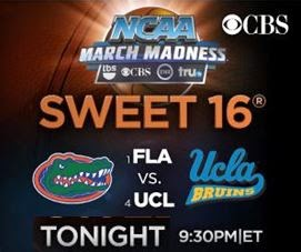 The Sweet 16 vs. #1 FLA 6:45 PM PT