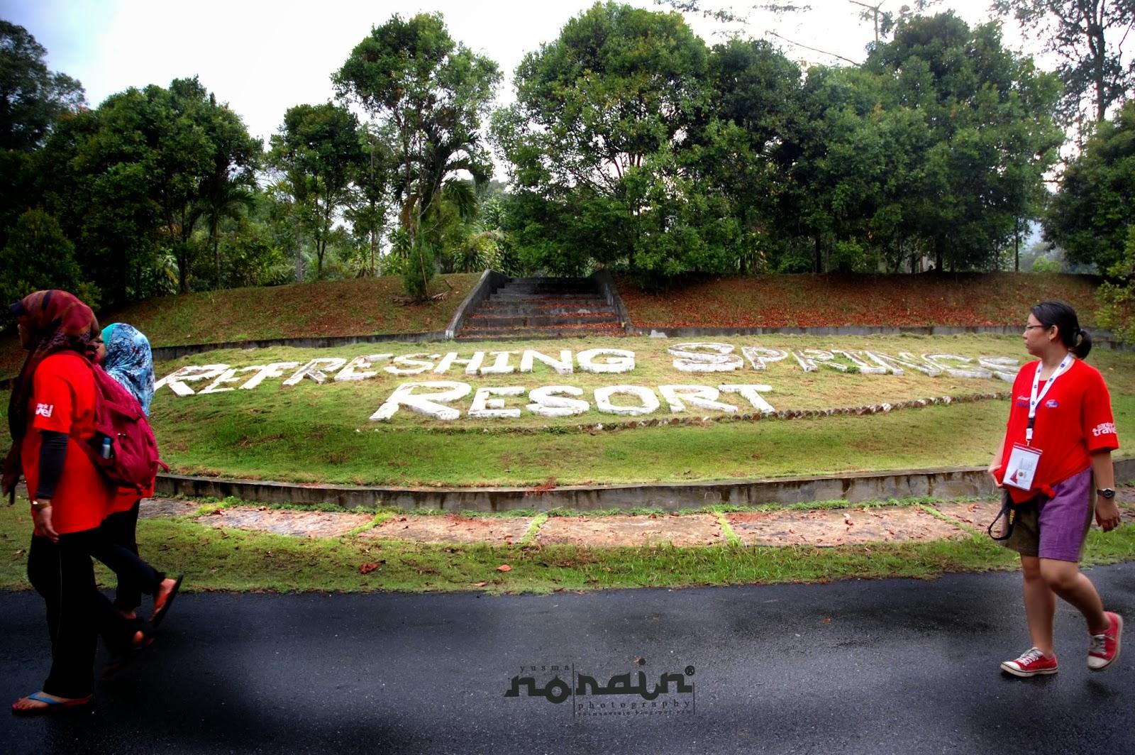 Refreshing Springs Resort Dibina Dalam Kebun Buah-Buahan Tropika