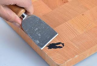A mi manera c mo quitar manchas de pintura en la madera - Como quitar manchas en la pared ...