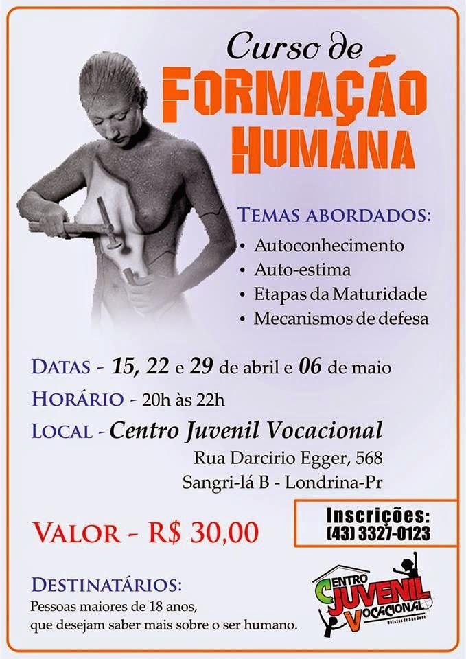 CURSO FORMAÇÃO HUMANA