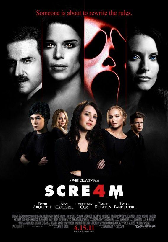 Creature Cast: Scream 4 (SPOILERS)