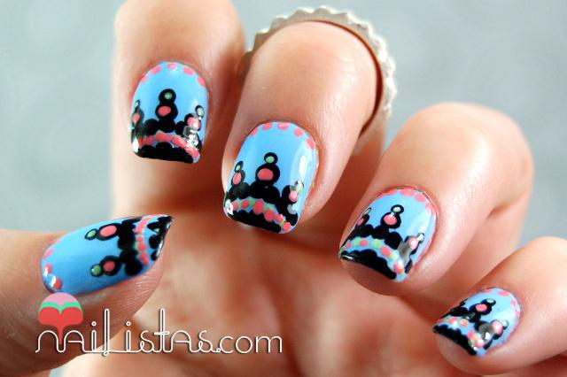 Qué os parecen estas uñas decoradas, os parecen fáciles? ¿Os ...