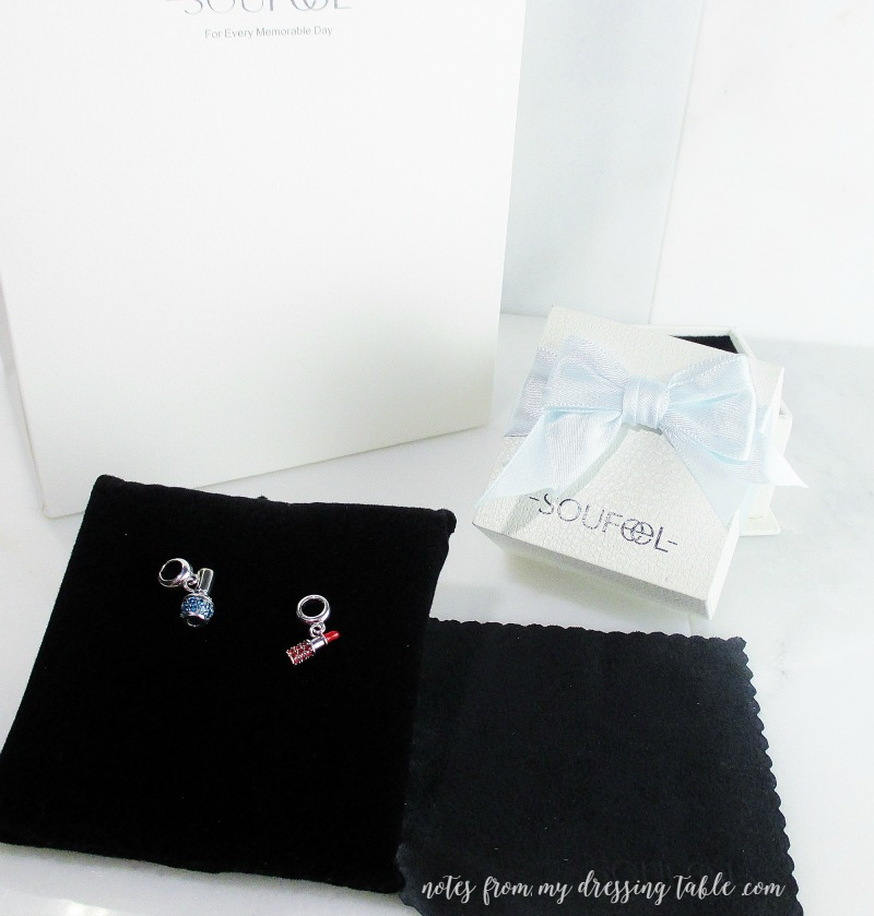 Beauty Charms from Soufeel notesfrommydressingtable.com