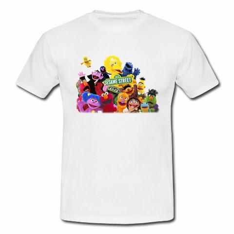 koszulka Ulica Sezamkowa