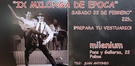 IX MILONGA DE EPOCA