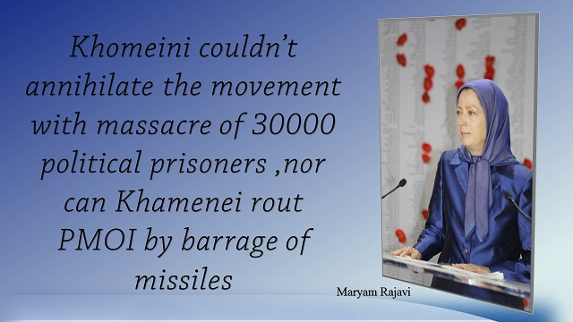Iran-  Maryam Rajavi's speech at the ceremony commemorating the martyrs of the missile attack on Camp Liberty November 1, 2015