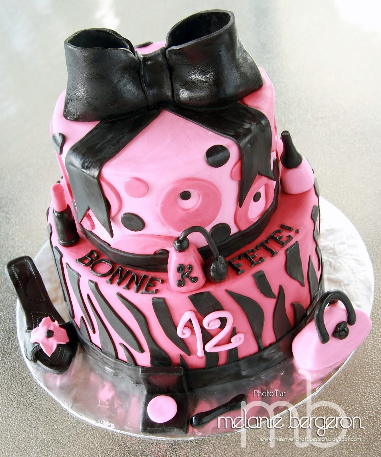Populaire Rose Sucré: Un Gâteau 100% fille! PK94