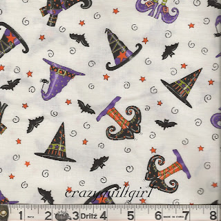 Moda TRICK OR TREAT Halloween Quilt Fabric by Deb Strain