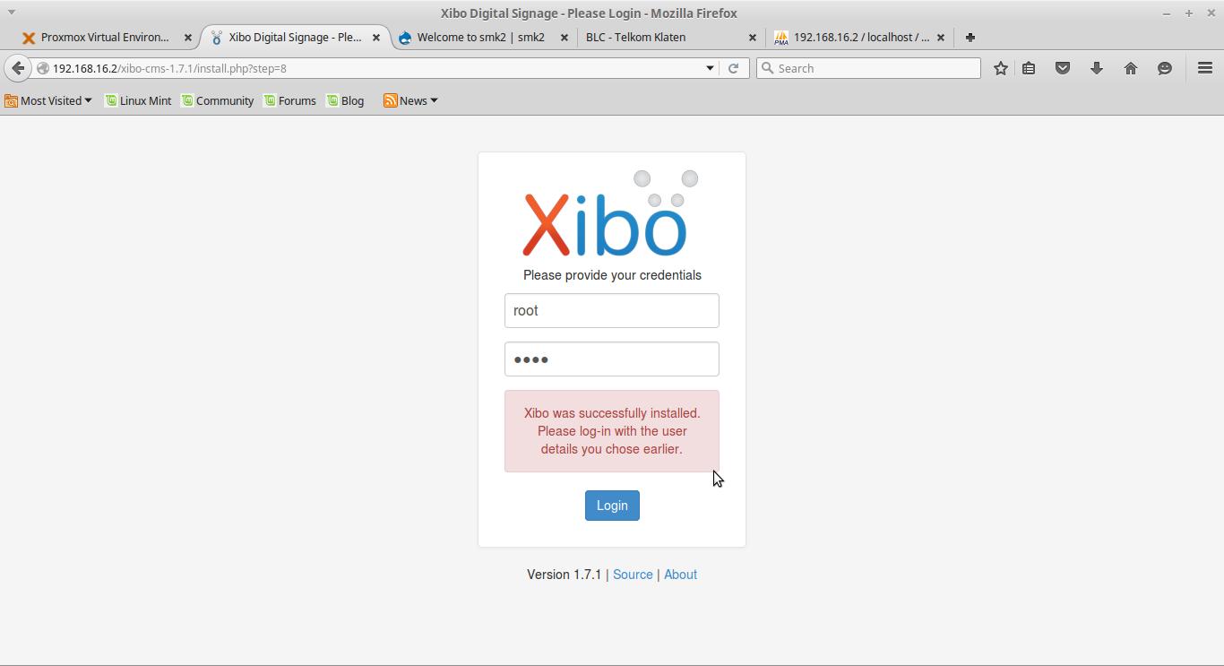 Cara Membuat aplikasi digital signage menggunakan CMS Xibo