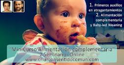 Minicurso Online : Alimentación Complementaria