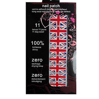 pegatinas para uñas british