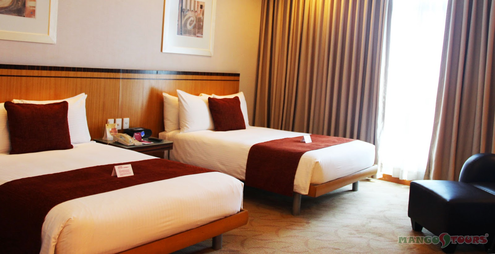 Mango Tours Crowne Plaza Manila Galleria Rooms Hotel Philippines