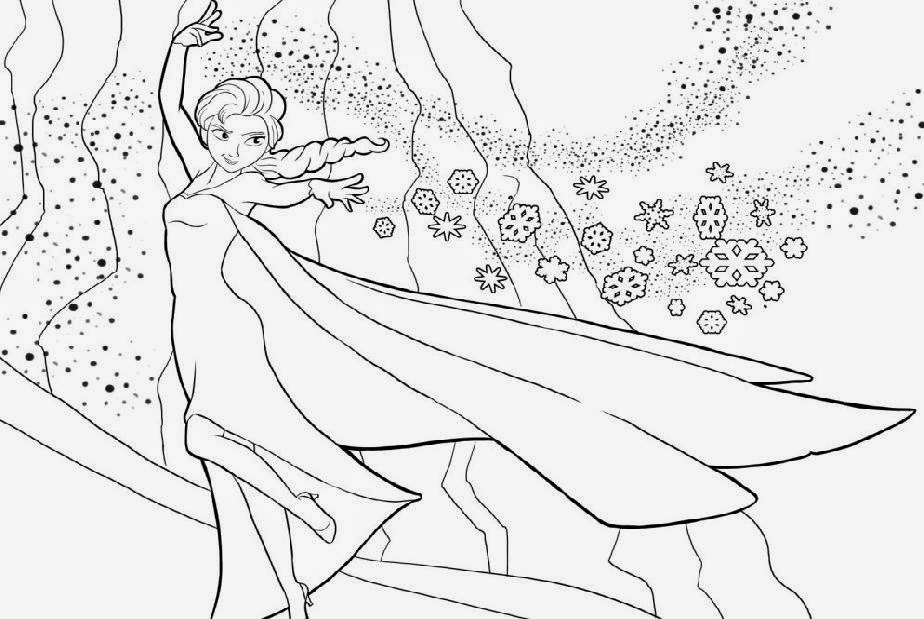 Download Frozen Strength Coloring Page Or Print