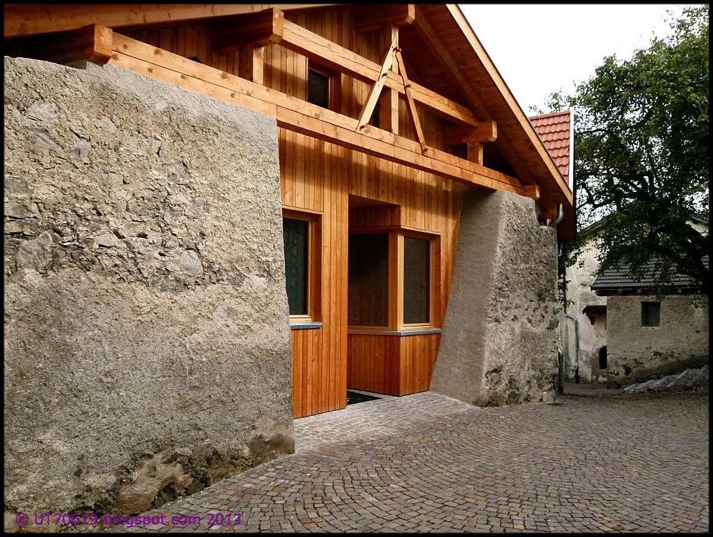 Über die Jahrhunderte bogen sich auch dicke Balken.