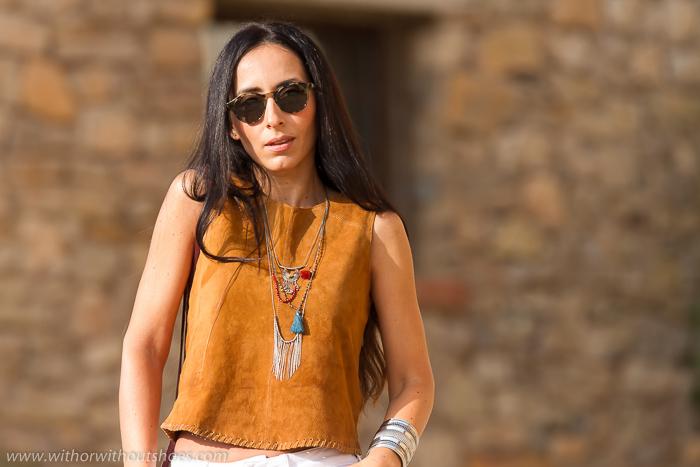Blogger de Valencia de moda con estilo hippie bohemio chic
