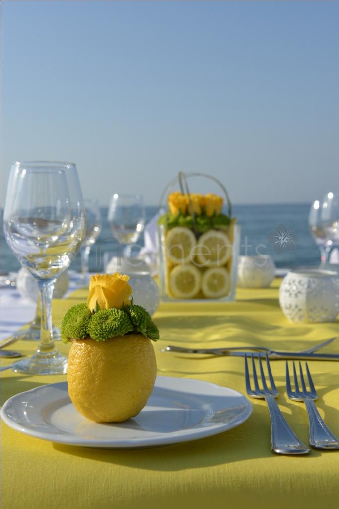 ciao! newport beach: easy summer tablescapes