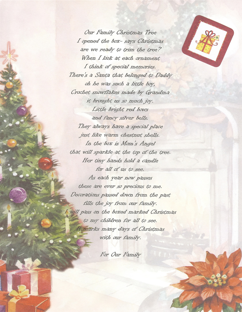 Christmas Poems  Multi Star