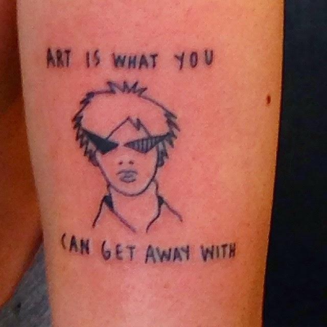 Andy Warhol Tattoo