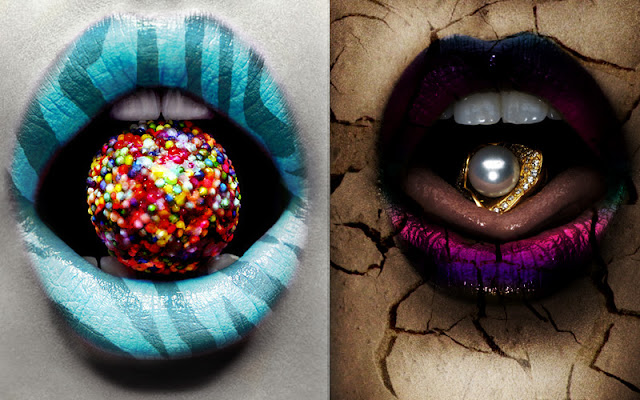 Amazing Lip Art Design Ideas : Amazing crazy lip art awesome designer makeup