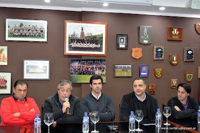 Reinauguración de la Unión de Rugby de Salta