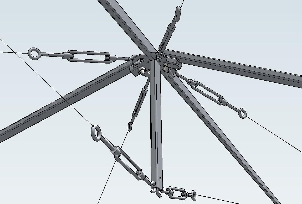 Lalus fecit dibujos 3d estructura para soportar toldo - Estructura para toldos ...