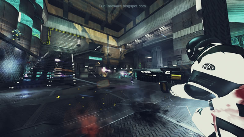 Open Source First Person Shooter Game XONOTIC ScreenShot
