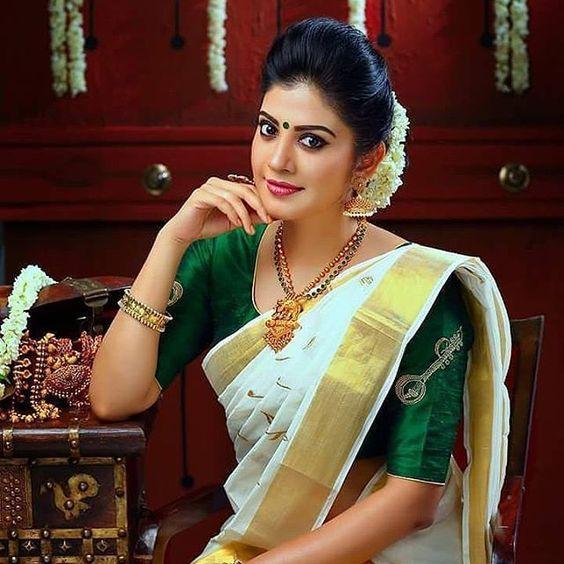 Best Kerala Saree Blouse Designs