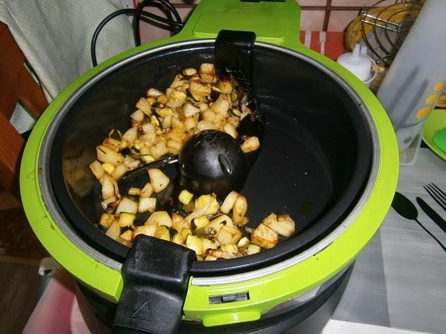 Cocina con xena patatas calabacin etc etc en freidora for Cocinar wok sin aceite