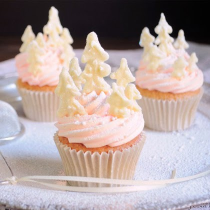 Peppermint Forest Cupcakes Recipe & Tutorial