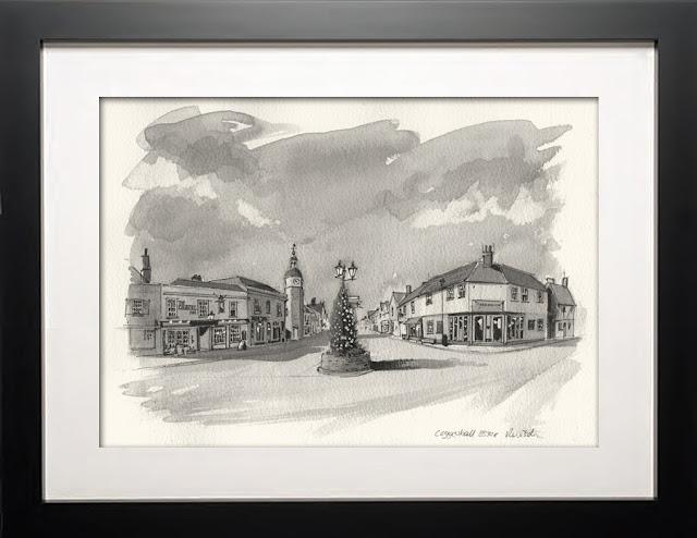 Coggeshall Essex illustration