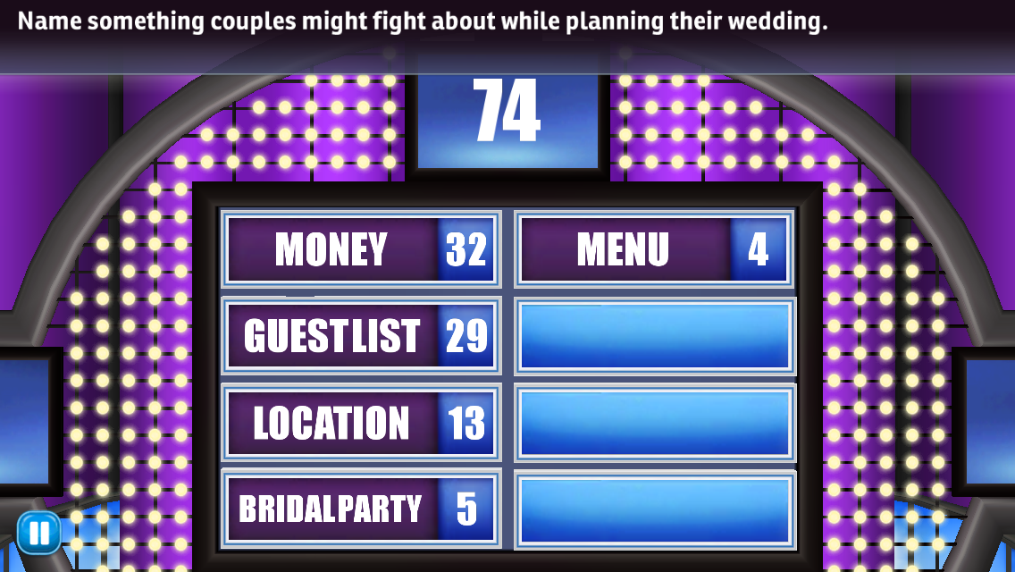 Family Feud and Friends Game Answers Revealed!: Name something couples ...